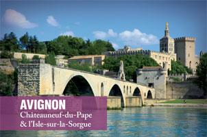 Avignon et Chateauneuf du Pape